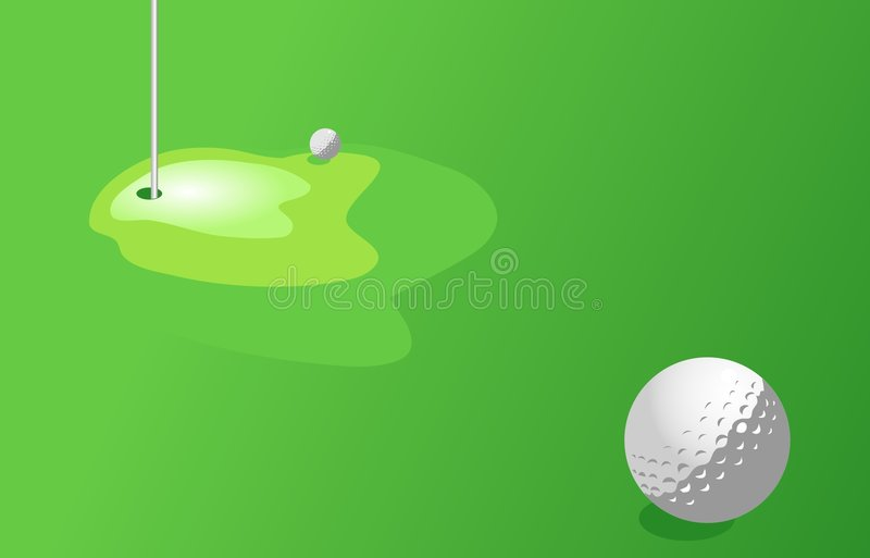 Download Golf stock illustrationer. Illustration av fält, golf, diagram - 43768