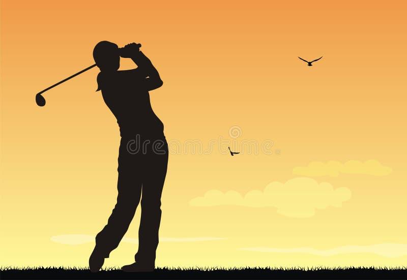 golf ilustracji