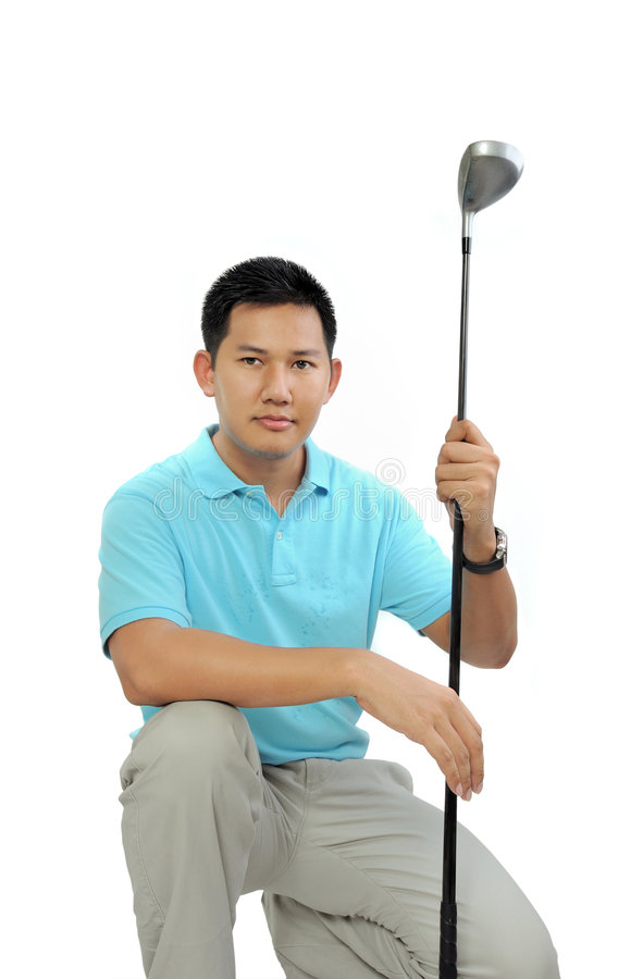 Download Golf stock image. Image of white, outdoor, shot, round - 6296573