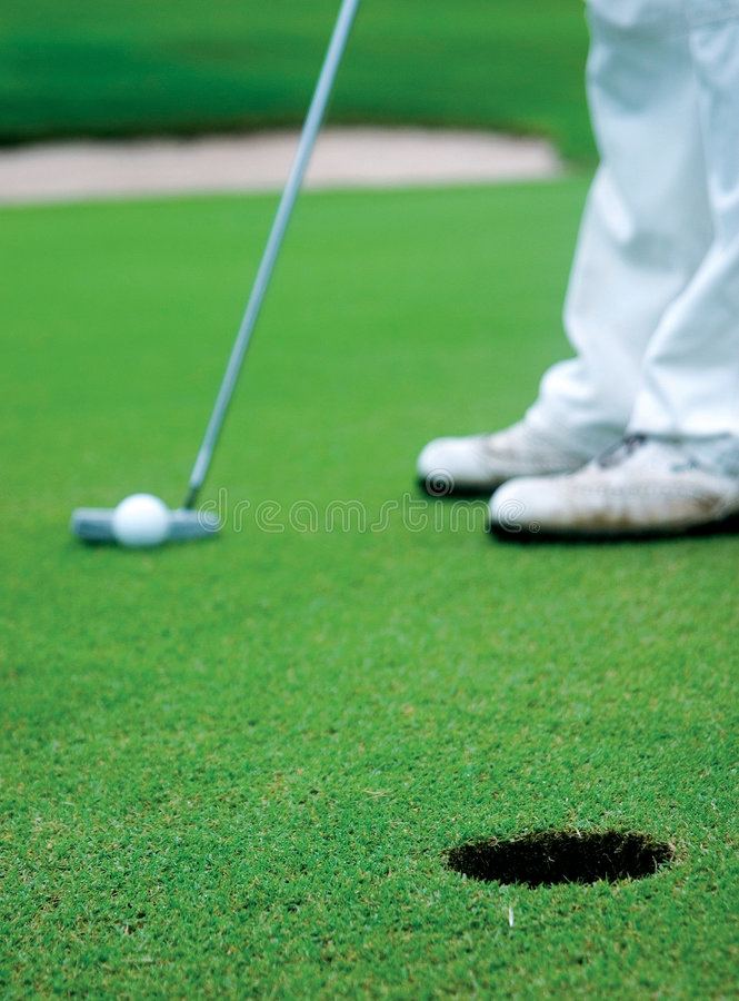 golf arkivfoto