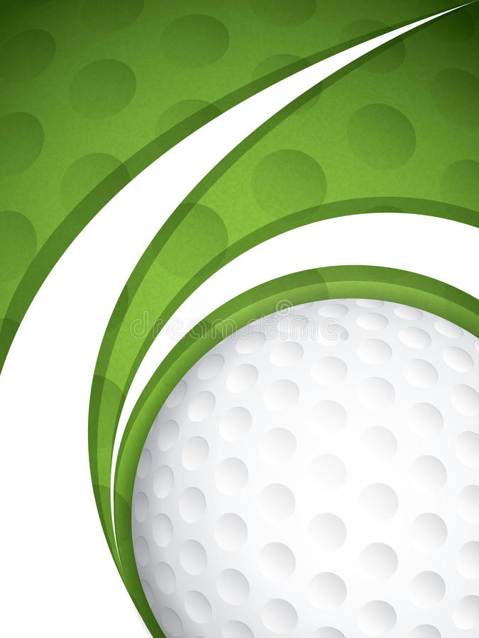 Golf vector illustratie