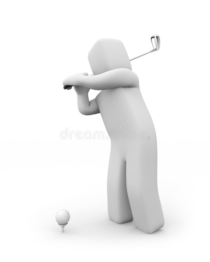 golf royaltyfri illustrationer