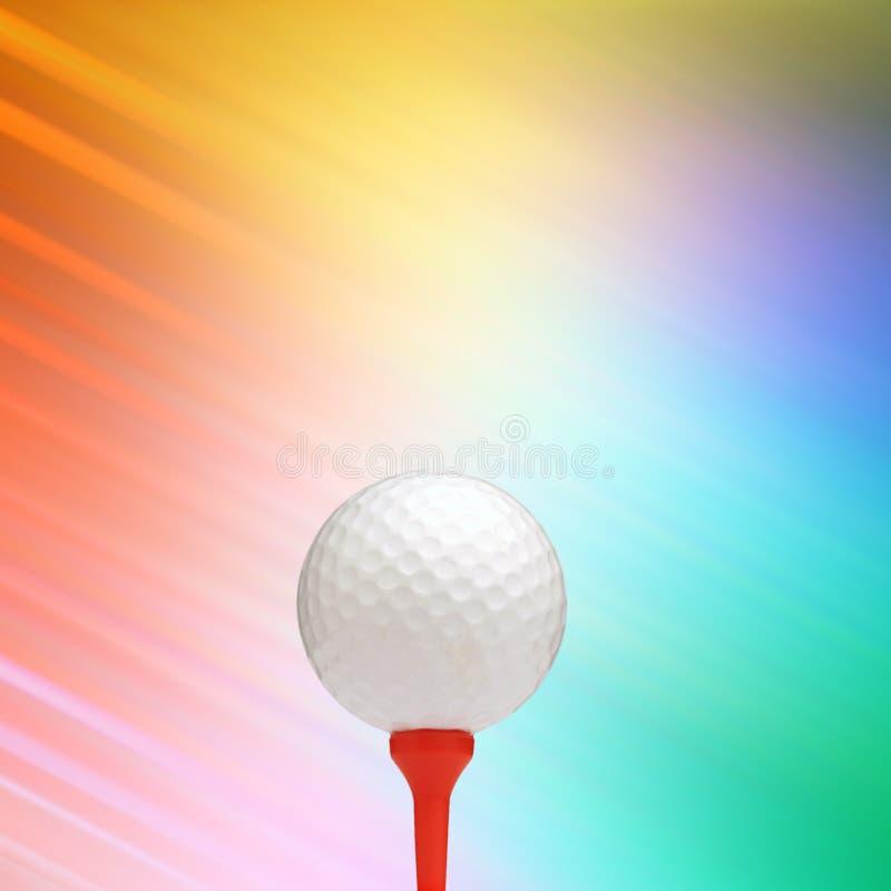 Golf abstrait illustration de vecteur