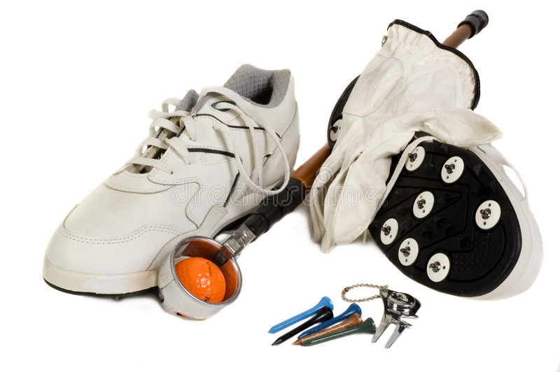 Download Golf Accesories stock photo. Image of recreation, marker - 3619054