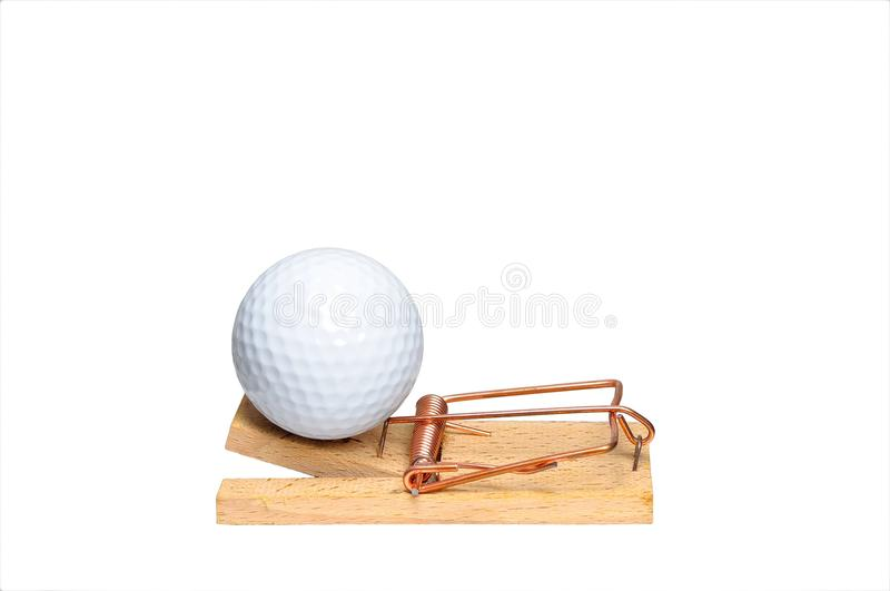 Download Golf addiction concept stock image. Image of disease - 14341411