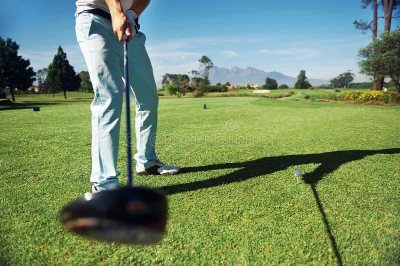 Golf-Antrieb lizenzfreie stockfotos