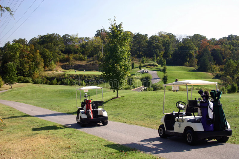 Download Golf, anyone? stock photo. Image of course, recreation, fairway - 25340