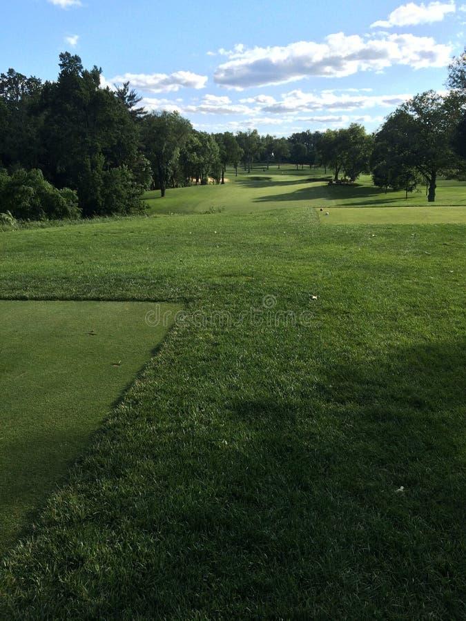 Golf at Augusta royalty free stock photos