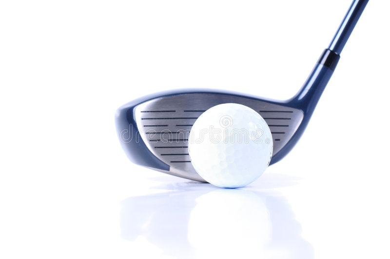 Golf-Ausrüstungen lizenzfreie stockbilder