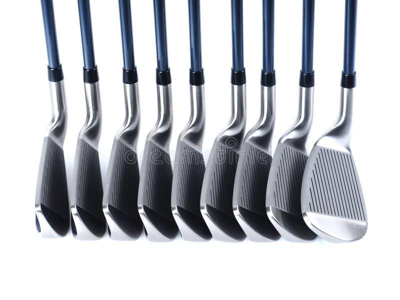 Golf-Ausrüstungen stockfotografie