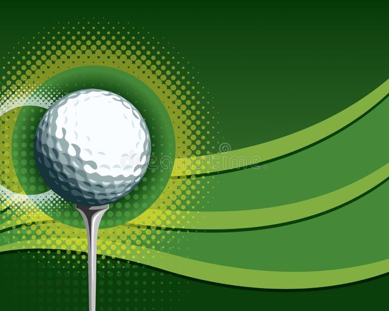 Golf background royalty free illustration