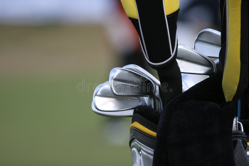Download Golf bag and set of clubs stock photo. Image of putter - 3015216