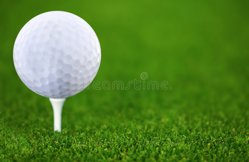 Golf-bal fotografia stock
