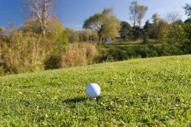 Download Golf ball 04 stock photo. Image of playgolfer, club, fairway - 318522