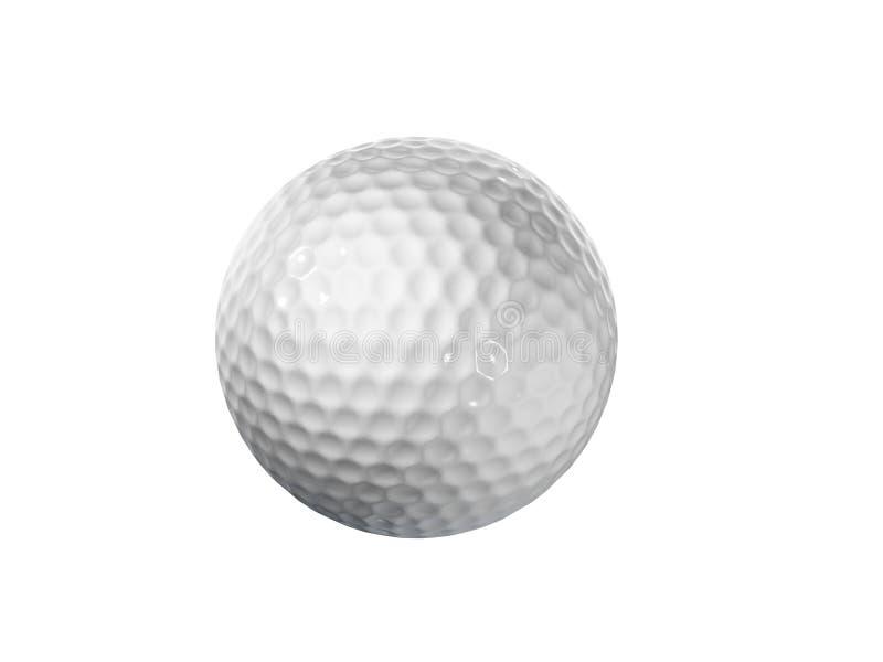 Golf ball stock illustration