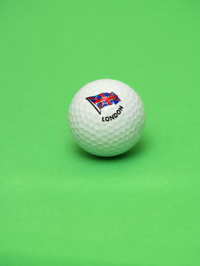 Download Golf ball stock image. Image of lapel, isolated, close - 12206367