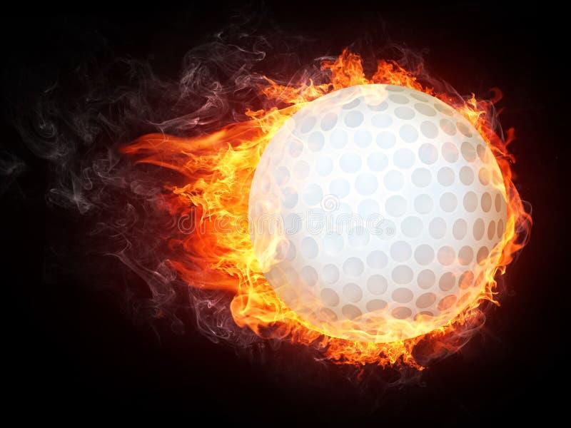 Golf Ball royalty free illustration