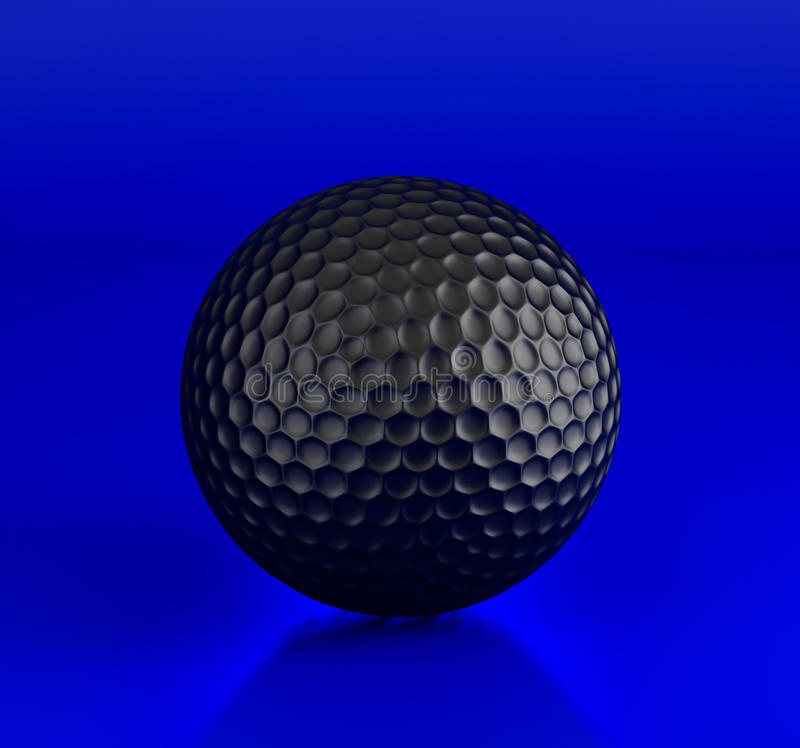 Download Golf ball stock illustration. Image of golfing, playing - 14853520