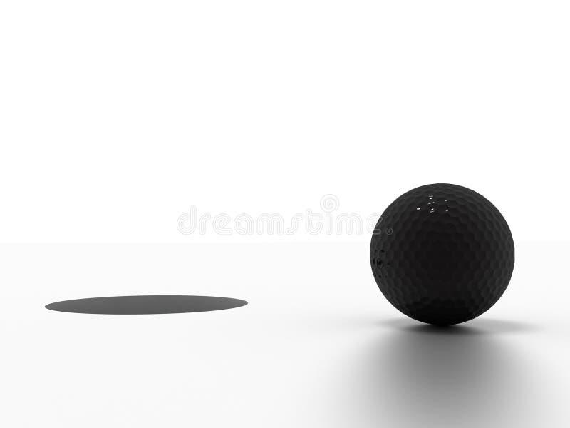 Download Golf ball stock illustration. Image of leisure, finish - 16183359