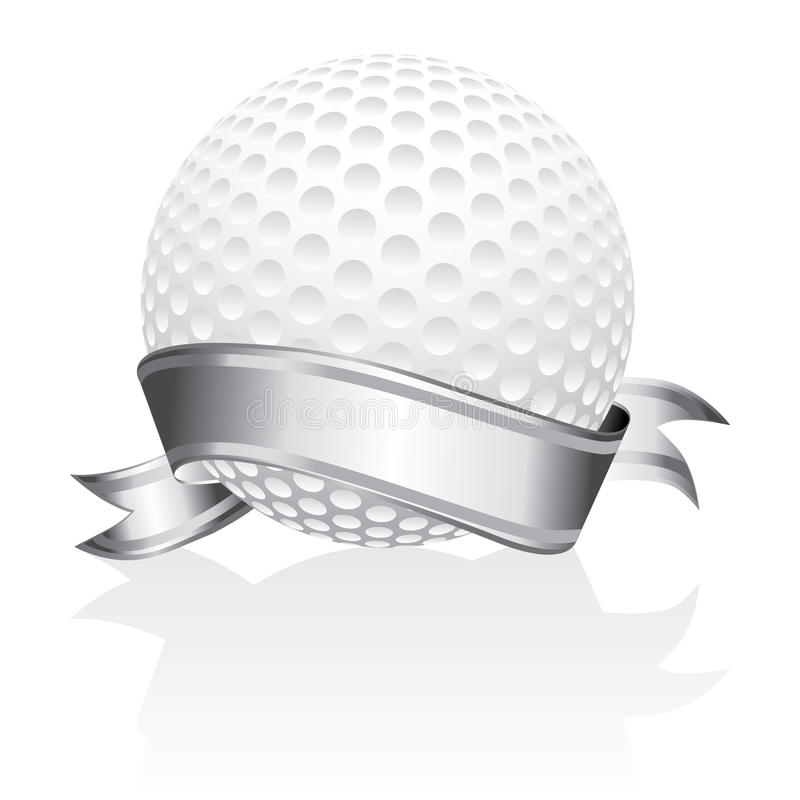 Download Golf ball stock vector. Image of illustration, game, leisure - 16675844