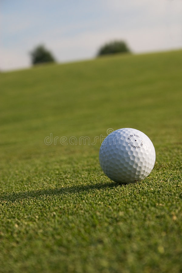 Download Golf ball stock image. Image of golf, green, close, hole - 206417