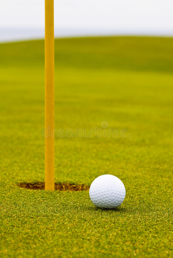 Download Golf ball stock photo. Image of goal, putt, green, golf - 23208388