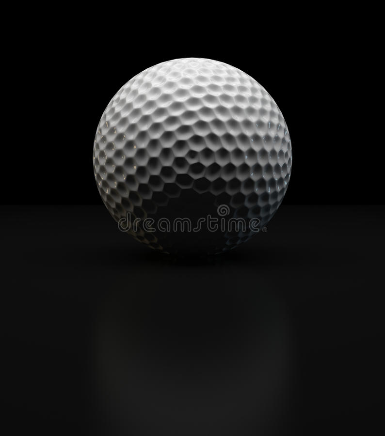 Download Golf Ball stock illustration. Illustration of flag, background - 26558274