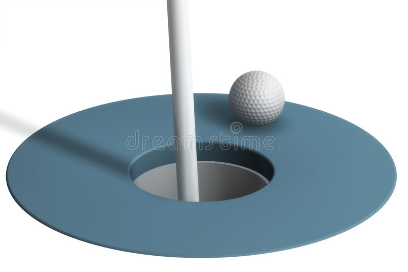 Download Golf Ball stock illustration. Image of illustration, putting - 3047689