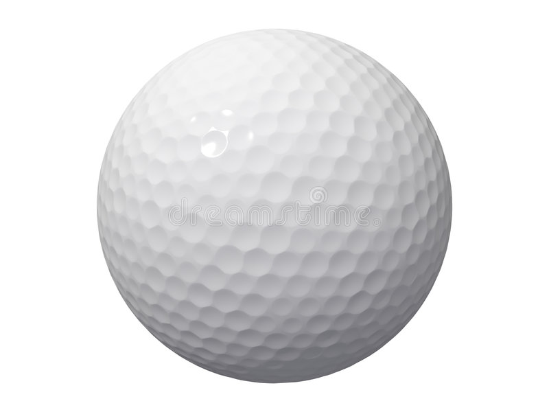 Golf ball royalty free stock photos