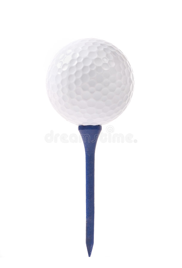 Free Golf Ball And Tee Royalty Free Stock Photos - 8357258