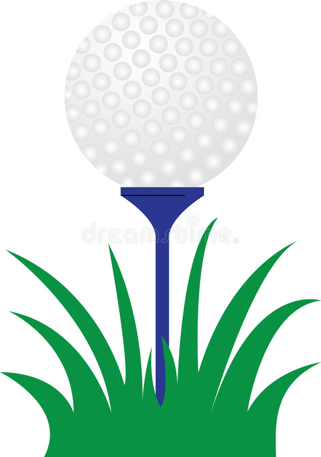 Free Golf Ball And Tee On The Green Royalty Free Stock Image - 12664606