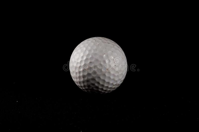 Golf Ball. Classic Style Round Golf Ball Textured Sphere vector illustration