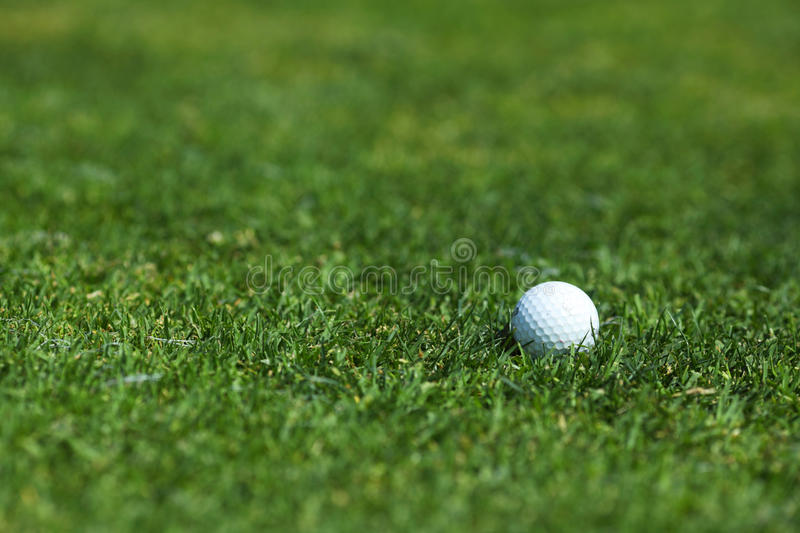 Download Golf-ball On Course Royalty Free Stock Photos - Image: 25533368