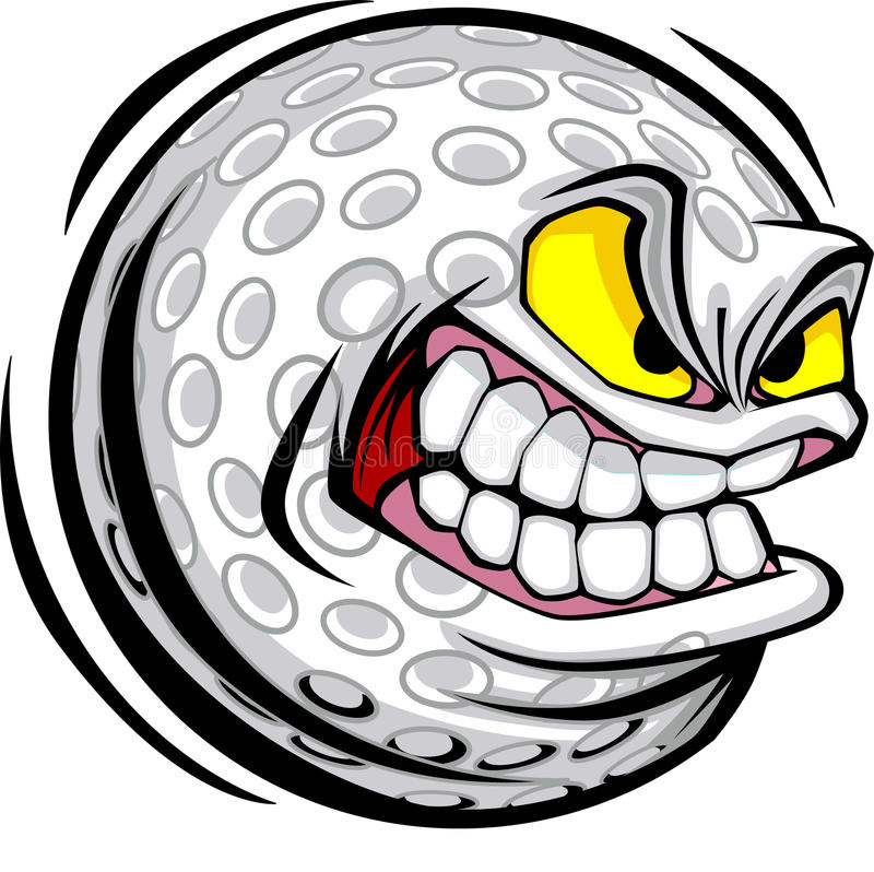 Free Golf Ball Face Vector Image Royalty Free Stock Photos - 11475148