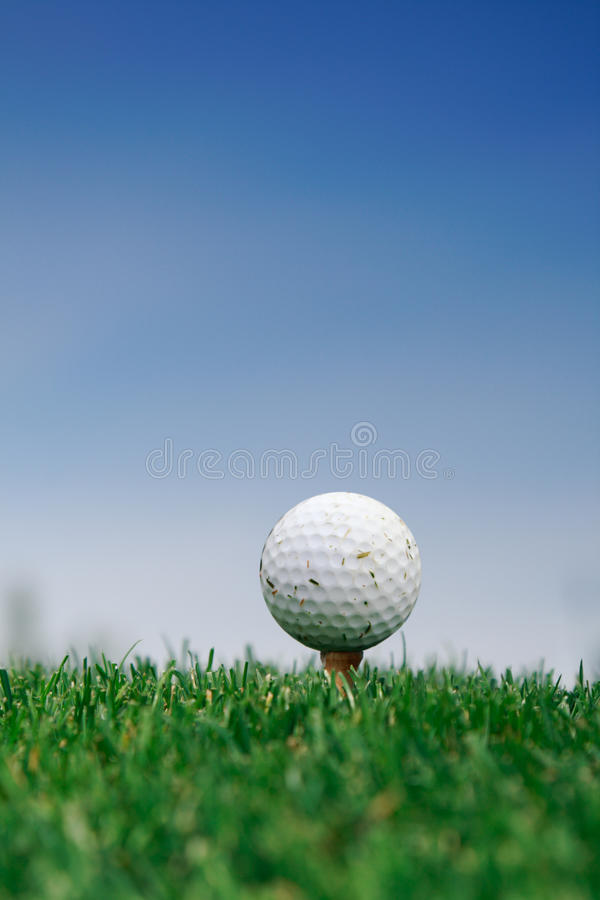 Download Golf ball on the grass stock photo. Image of macro, outdoor - 18675910