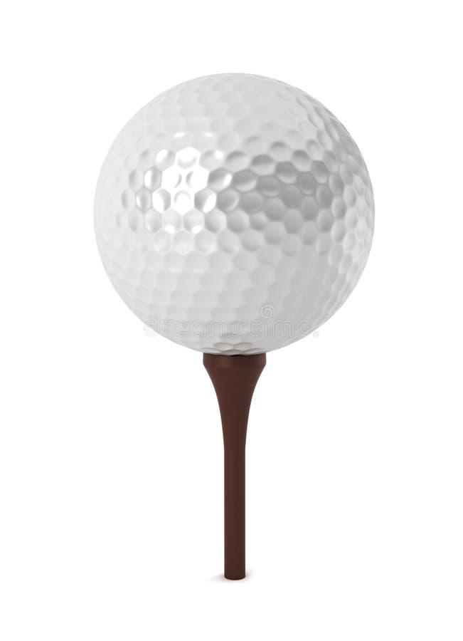 Download Golf ball on grass stock illustration. Illustration of equipment - 27858563