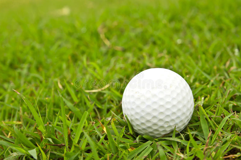 Download Golf Ball On Grass. Stock Photos - Image: 32715603