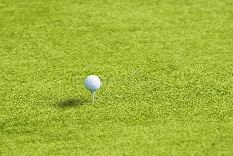 Download Golf Ball On The Green Grass Stock Photo - Image: 13549024
