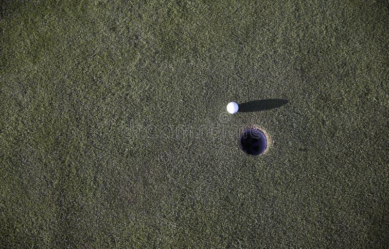 Golf Ball Beside Hole Free Public Domain Cc0 Image