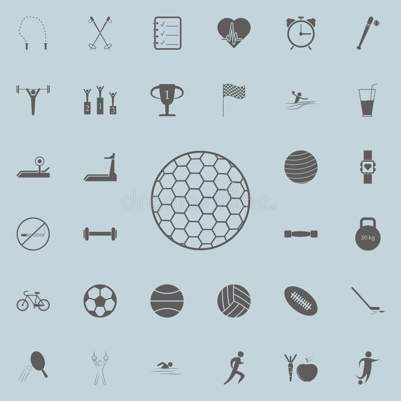 golf ball icon. Detailed set of Sport icons. Premium quality graphic design sign. One of the collection icons for websites, web de vector illustration