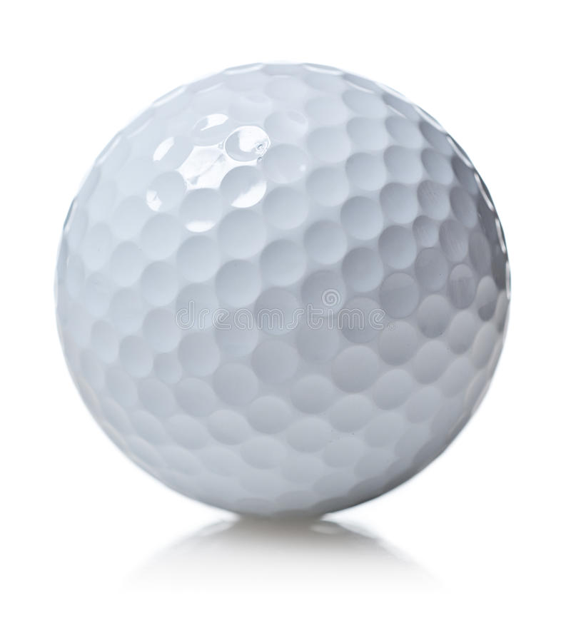 Download Golf Ball Isolated On White Stock Image - Image: 10601631