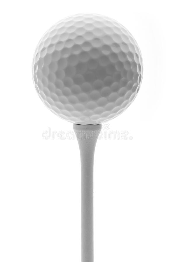 Free Golf Ball On A Tee Royalty Free Stock Images - 41405959