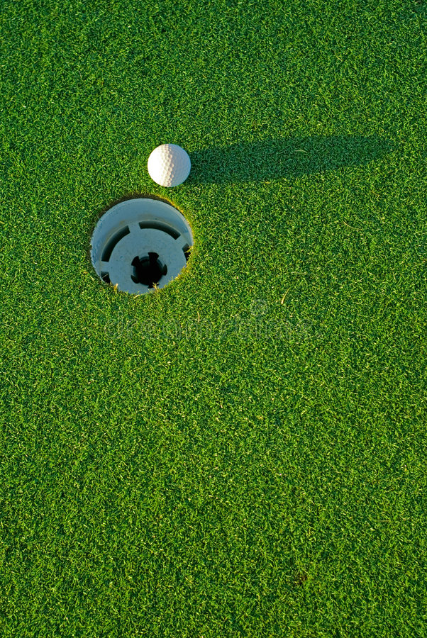 Free Golf Ball On Next To Hole 4 Royalty Free Stock Photography - 2110257