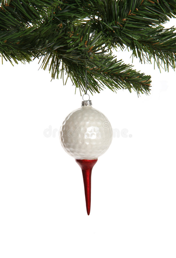 Free Golf Ball Ornament Stock Photography - 1344672