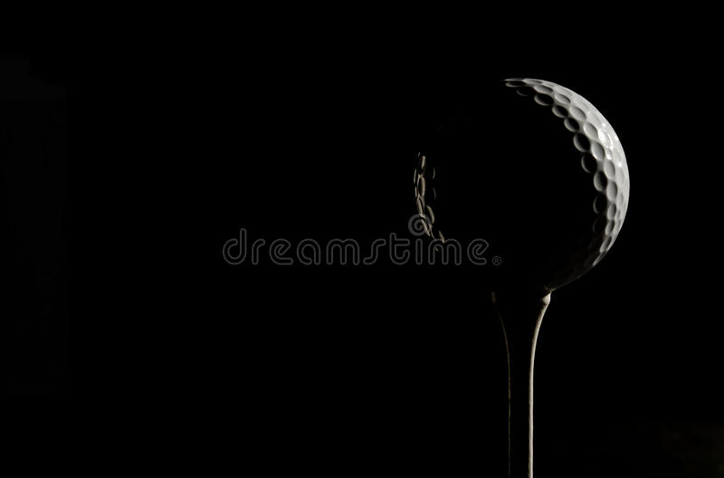 Download Golf ball in sidelight stock image. Image of sidelit - 23101843