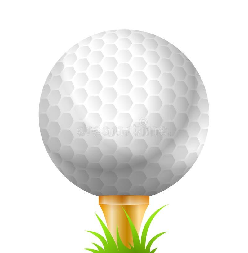 golf ball sport golfing stock vector illustration of competition rh dreamstime com Golf Ball Trophy Emoji Emoji Golf Ball with Grey Background