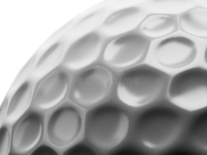 Golf ball surface