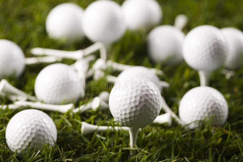 Download Golf ball on tee stock photo. Image of concept, game, equipment - 7318742