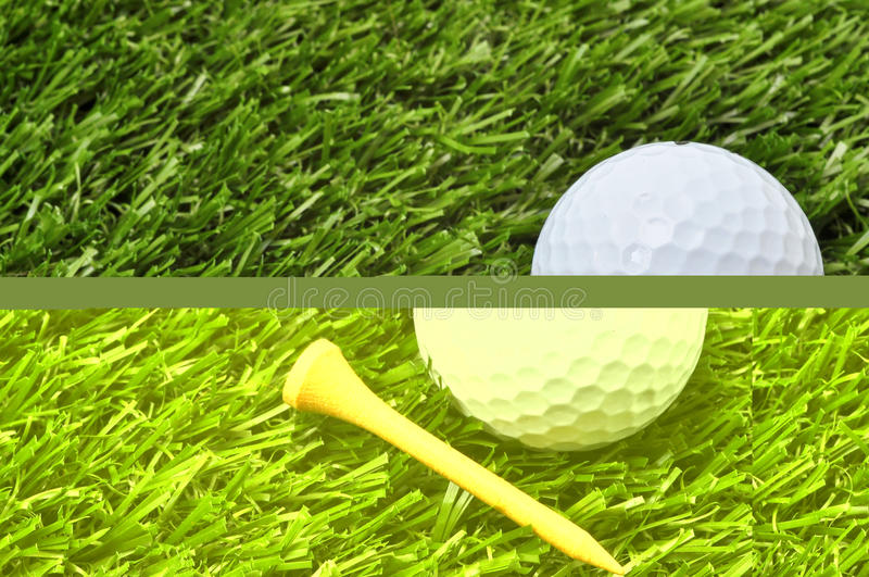 Download Golf Ball And Tee With Copy Space Stock Photo - Image: 18154738