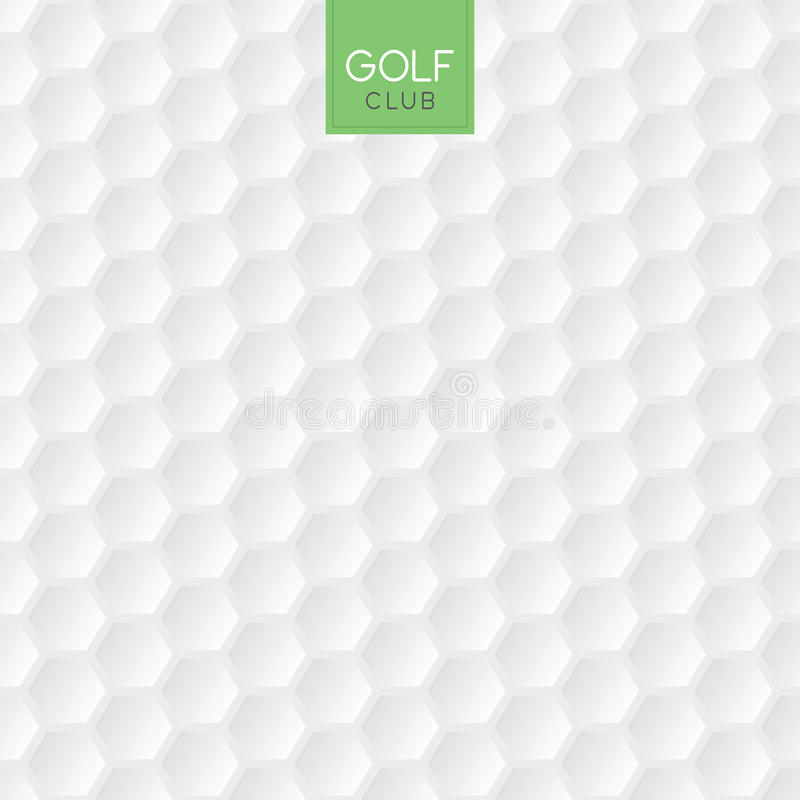Golf ball texture background. Vector illustration of an abstract golf ball background royalty free illustration